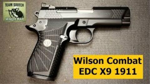 [sootch00]威尔逊Combat EDC X9 1911手枪