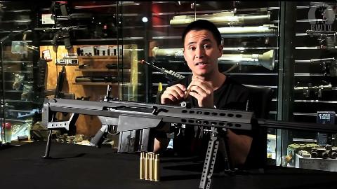 "Redwolf介绍""大炮狙""巴雷特M107 GBB"