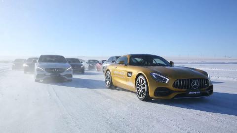 零下30度的冰雪路,奔驰带你去撒野