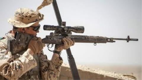 阿富汗战争|爱沙尼亚侦察连狙击手与塔利班交火记录
