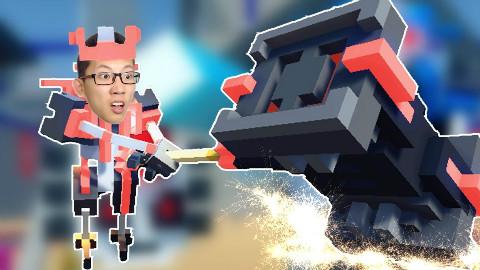 机器人大乱斗Clone Drone in the Danger Zone 新武器巨锤!鲤鱼Ace