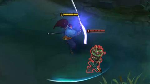 【亚索】对不起,其实我是魔剑士