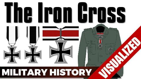 【自制字幕】大德意志的铁十字背后的那些故事?铁十字勋章的发展史!