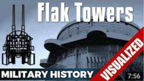 【自制字幕】二战德国防空塔的发展历程&故事!