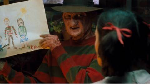 三分钟看【猛鬼街6】弗莱迪之女 变态魔鬼竟然有女儿?是谁这么有勇气当了弗莱迪的老婆