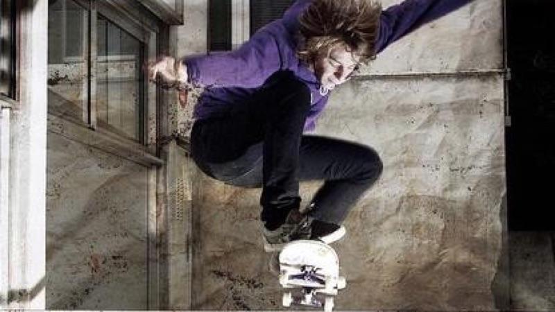 超酷的滑板招数