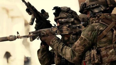 【欧肯视线】作战凶狠!俄罗斯特种部队日超清曝光在叙利亚作战镜头