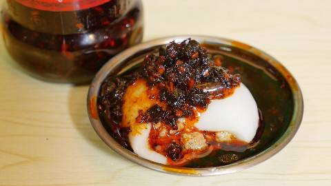 【盗月社】当老干妈遇上麻婆肉馅汤圆,原来这才是汤圆的真正吃法!