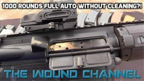 [TWC]连续打出1000发子弹的AR15会变成什么样