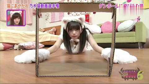【斋藤飞鸟】模仿猫咪的斋藤飞鸟,真的是太可爱了!