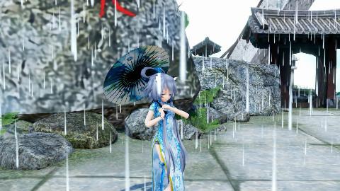 【天依MMD】雨中 等你 千年 只为 相见 —青蛇