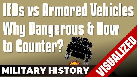 【自制字幕】中东战场的美军是如何应对路边炸弹的?