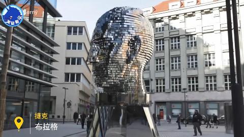 捷克艺术家将文学巨匠卡夫卡化作变形金刚,绝妙手法惊醒世人