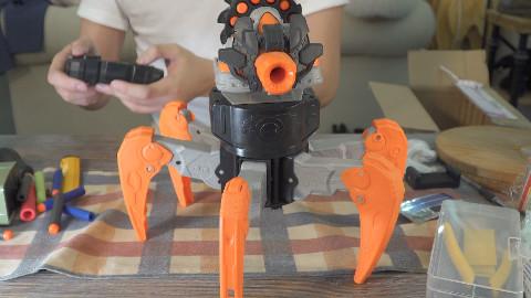 【乃一捂光速开箱】到底是蜘蛛还是Nerf自行火炮