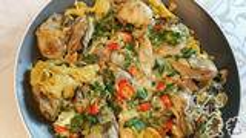 家庭版生蚝的做法,做法方便又简单,美味营养又健康,鲜嫩好吃到根本停不下来