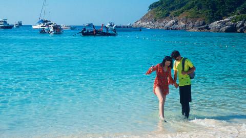 【Nico自制】泰国自驾蜜月旅行第二集:天天别墅泳池趴和大小皇帝岛一日游