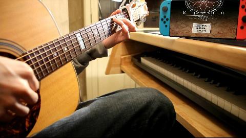 【剑与魔法的世界】废都物语组曲连弹【木吉他指弹】
