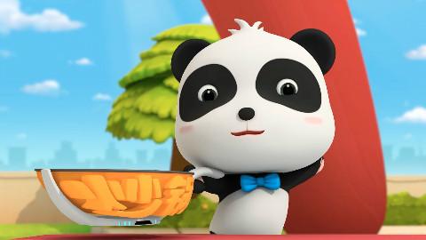 宝宝巴士之奇妙汉字—一个动画就可以教宝宝炒菜,学汉字,认识厨具,简直完美