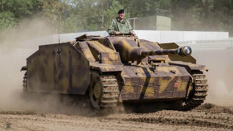 【讲堂284期】在二战叱咤风云的德国三号突击炮,击毁坦克数量高达21000辆