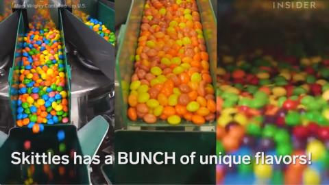 Skittles彩虹糖的制作过程~