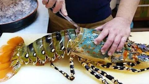 日本街头小吃系列片——价值600美元的巨大彩虹龙虾