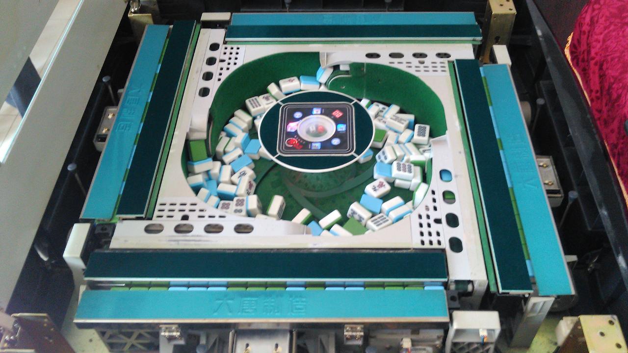 麻将机内部是如何工作的,拆开了让你看个清楚