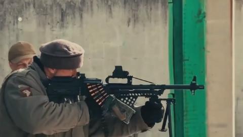 俄罗斯无托版PKP机枪