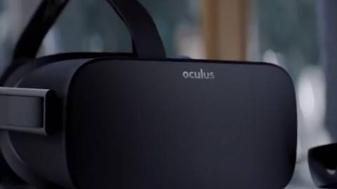 Facebook发布新款VR头盔Oculus Go