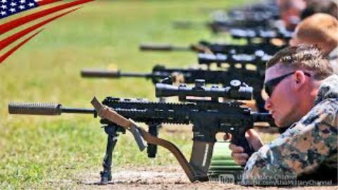 美军海军陆战队新枪M38(SDMR)