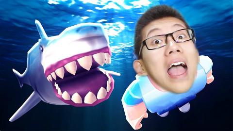 Roblox鲨鱼模拟器!鲤鱼Ace解说