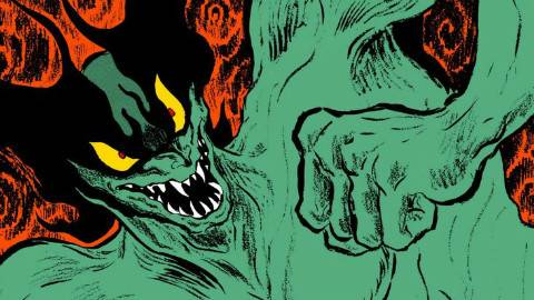 恶魔人科普第一期-永井豪的创作手法和恶魔人的诞生