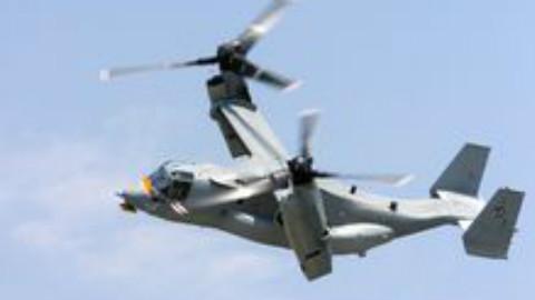 MV-22鱼鹰59秒宣传片 它不像任何飞机