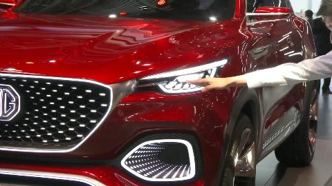 2018北京车展 名爵X-motion静态体验