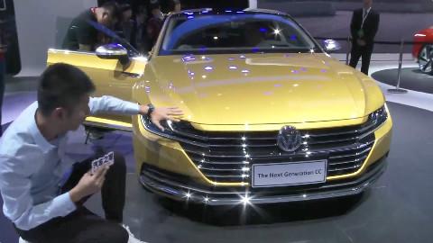 2018北京国际车展 W4展馆新车静态体验