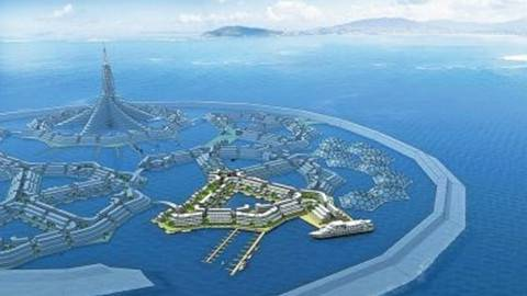 全球第一个漂浮城市:造价11亿2019年开始建造,有人敢住吗