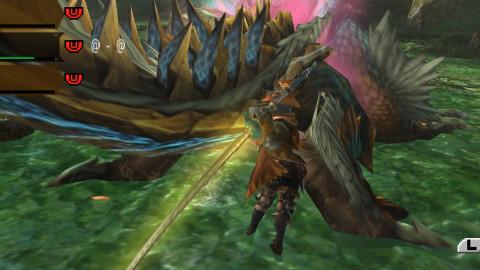 怪物猎人P3系列雷狼龙