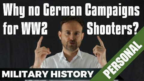 【自制字幕】为什么FPS游戏里没有德军主线?