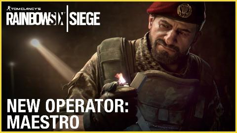 彩虹六号围攻备战行动- Maestro 干员预告