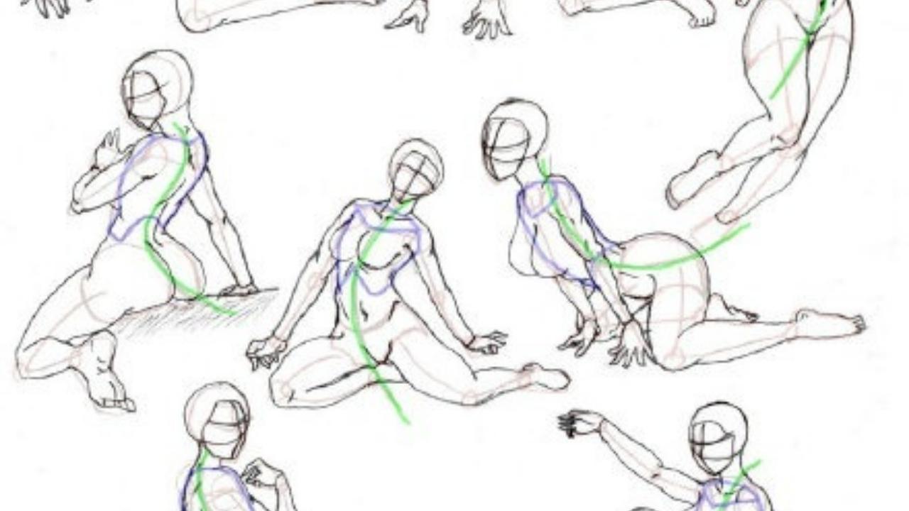 人物线稿的画法?线稿怎么画的教程,绘画线稿教程
