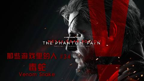 【那些游戏里的人#34】合金装备V:幻痛——毒蛇(Venom Snake)
