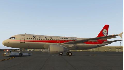 自制!3D动画解读川航3U8633航班备降全过程