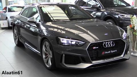 奥迪 RS5 Coupe 外观 内饰 细节全面展示