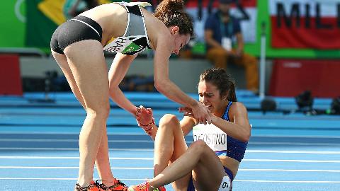 【体育】那些展现竞技体育之美的瞬间