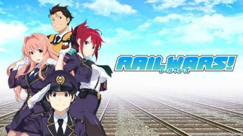 【BD 1080P】RAIL WARS!-日本国有铁道公安队- 第02话【澄空学园&华盟字幕社】