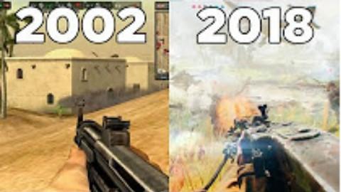《战地》系列游戏进化史(2002-2018)