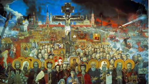 俄罗斯国歌 - 合唱