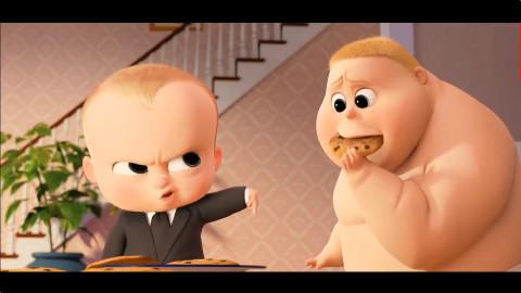 《宝贝老板》(The Boss Baby) 动画版的小宝宝太萌了