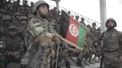 阿富汗国民军武装力量歌曲宣传片