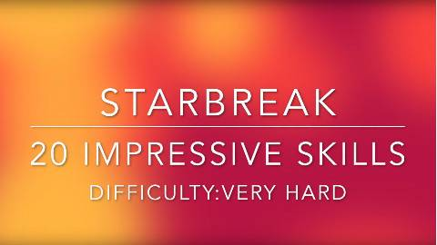 【Starbreak】Starbreak二十个精彩操作