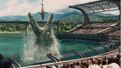 【阿斗】科学家培育出超大混血霸王龙,2万人被困岛上生死未卜《侏罗纪世界》